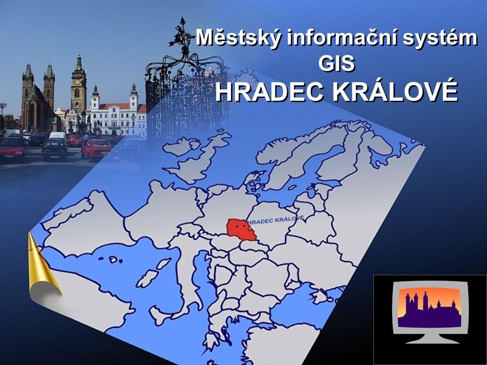 Městský informační systém GIS HRADEC KRÁLOVÉ