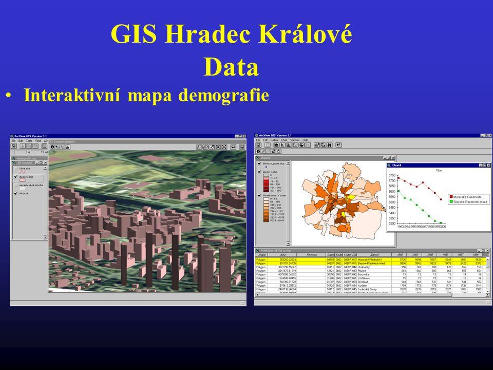 GIS Hradec Králové Data