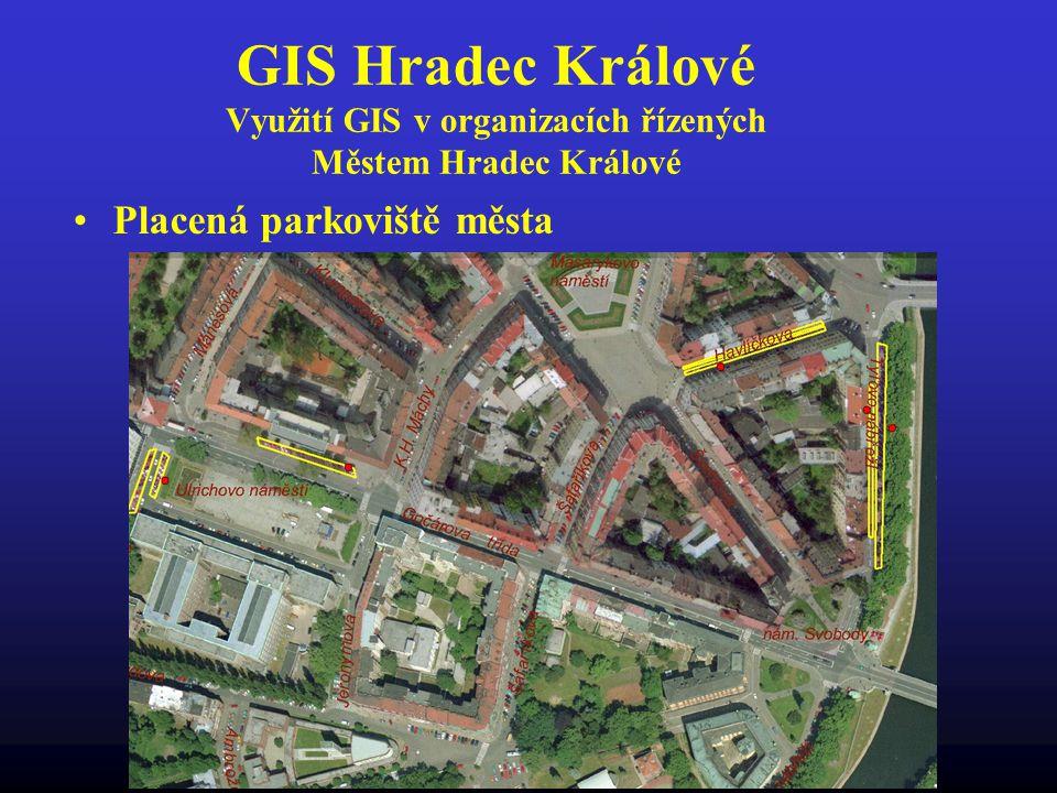 GIS Hradec Králové Využití GIS v organizacích řízených Městem Hradec Králové