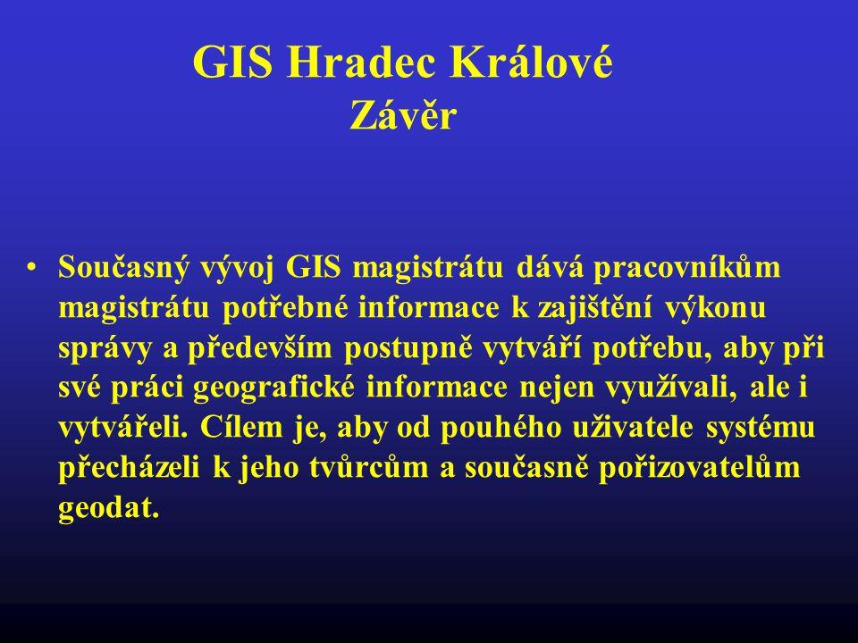 GIS Hradec Králové Závěr