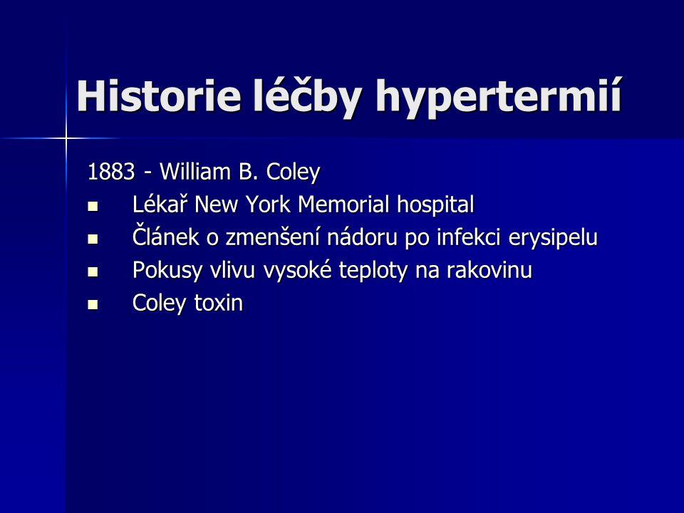 Historie léčby hypertermií