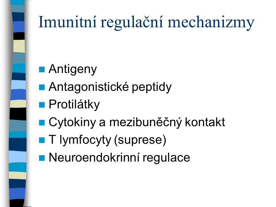 Imunitní regulační mechanizmy