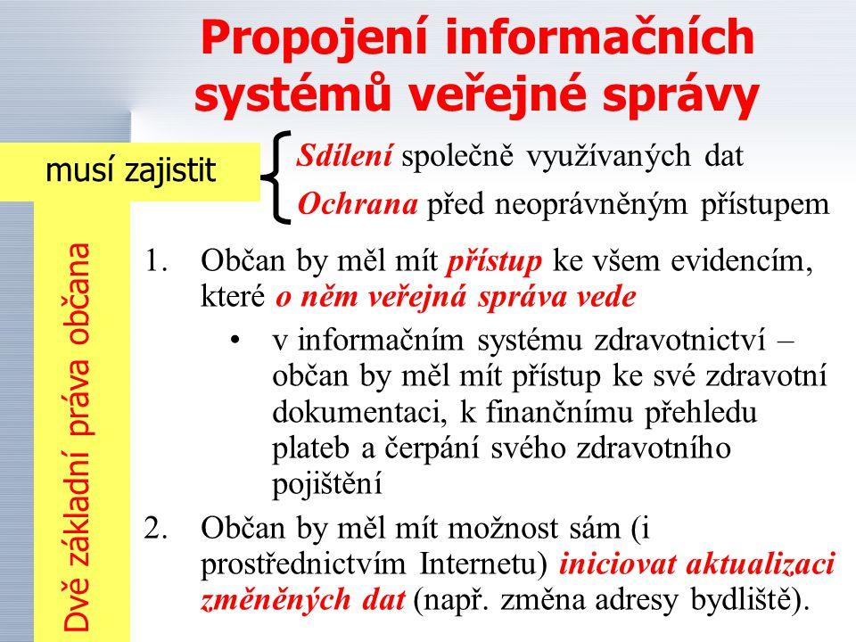 Propojení informačních systémů veřejné správy