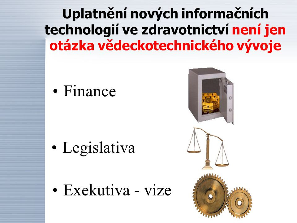 Finance Legislativa Exekutiva - vize