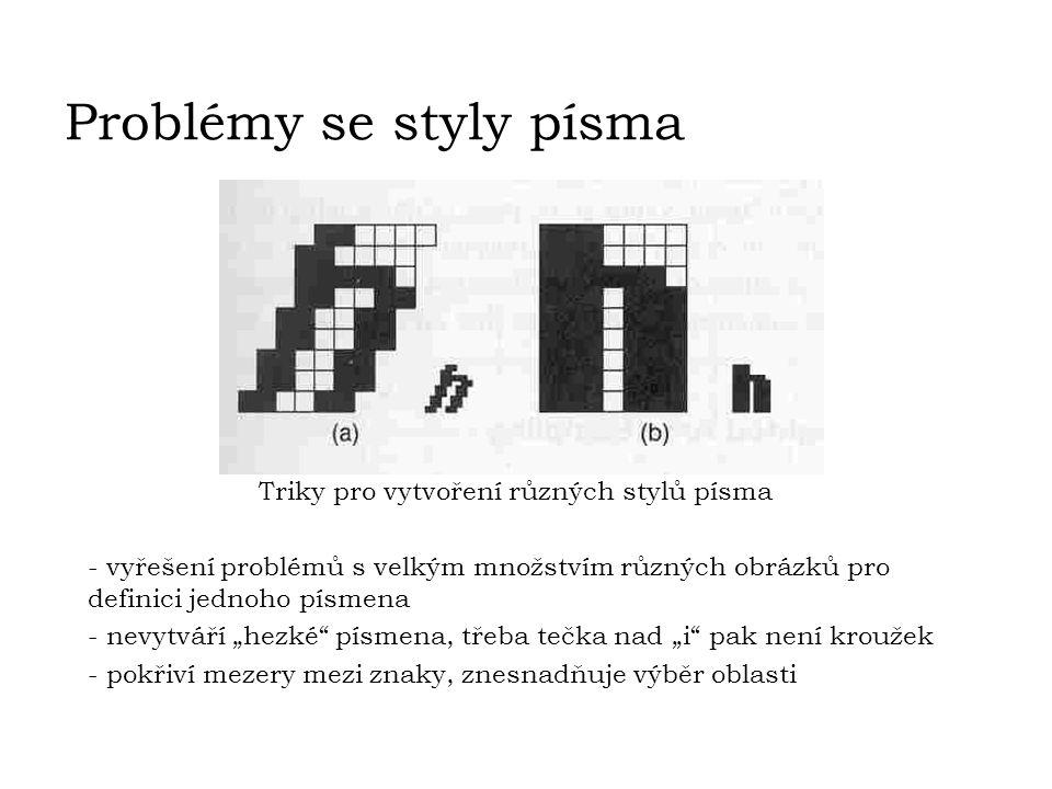Triky pro vytvoření různých stylů písma