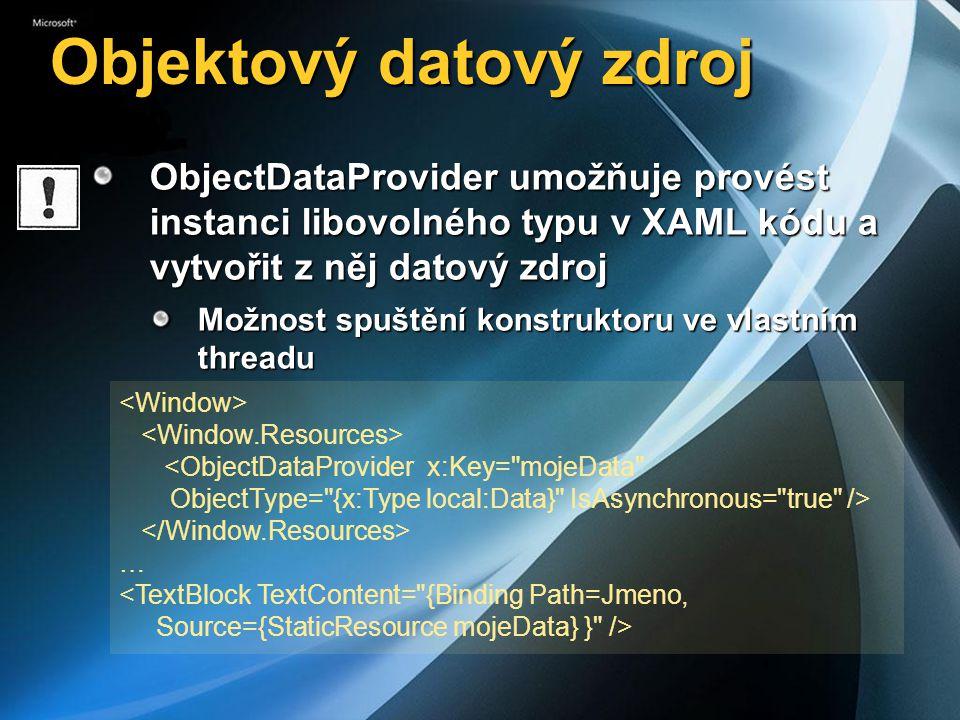 Objektový datový zdroj
