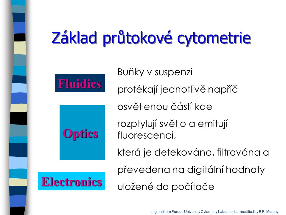 Základ průtokové cytometrie