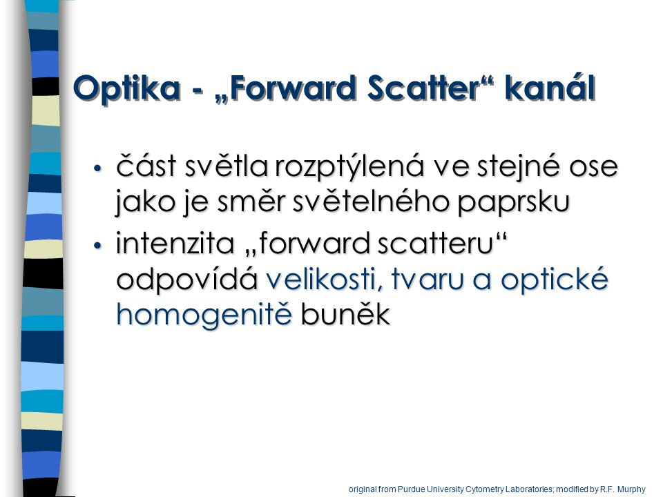"Optika - ""Forward Scatter kanál"