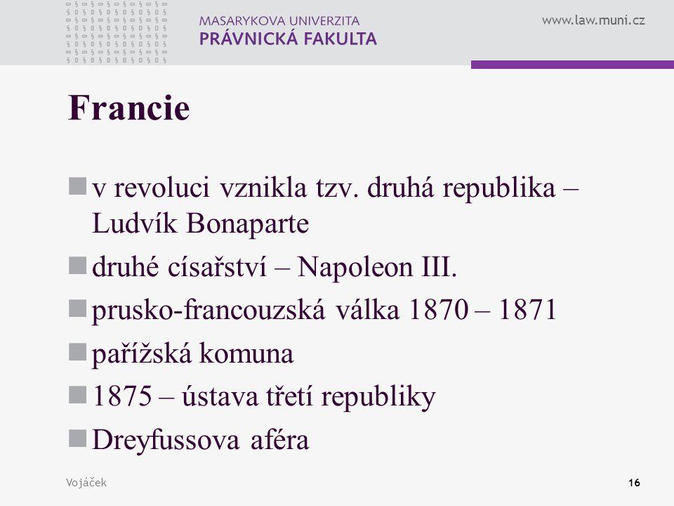 Francie v revoluci vznikla tzv. druhá republika – Ludvík Bonaparte