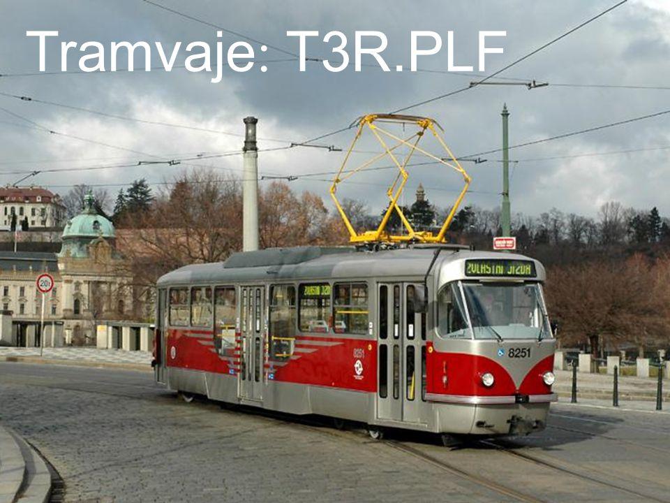 Tramvaje: T3R.PLF