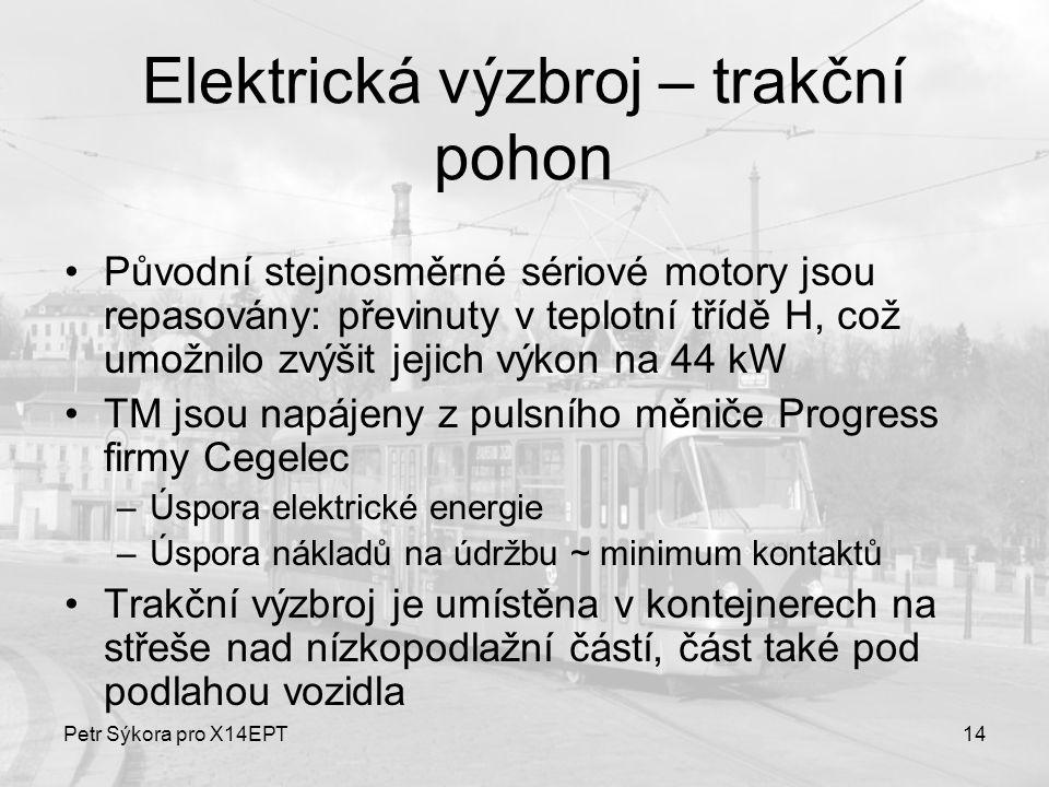Elektrická výzbroj – trakční pohon