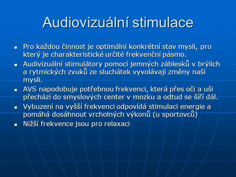Audiovizuální stimulace