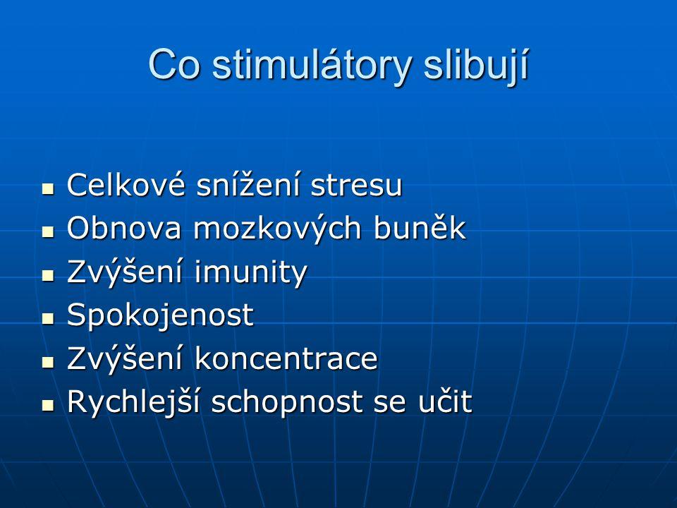 Co stimulátory slibují