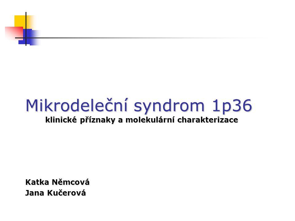 Mikrodeleční syndrom 1p36