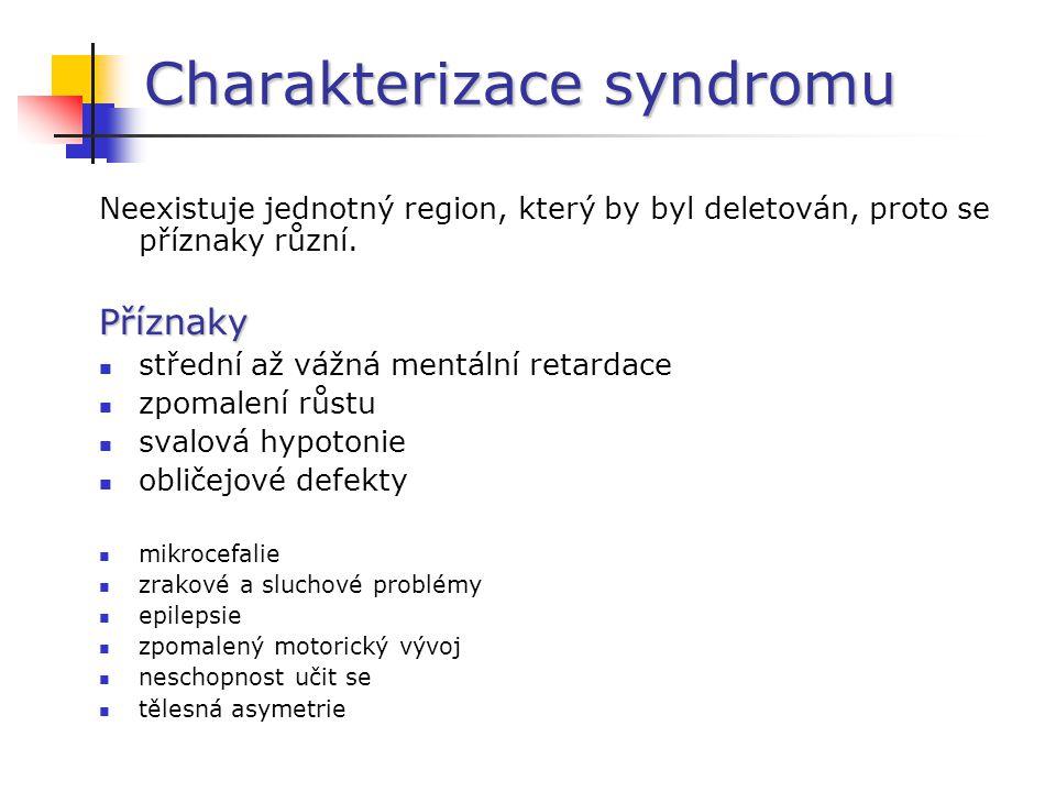 Charakterizace syndromu