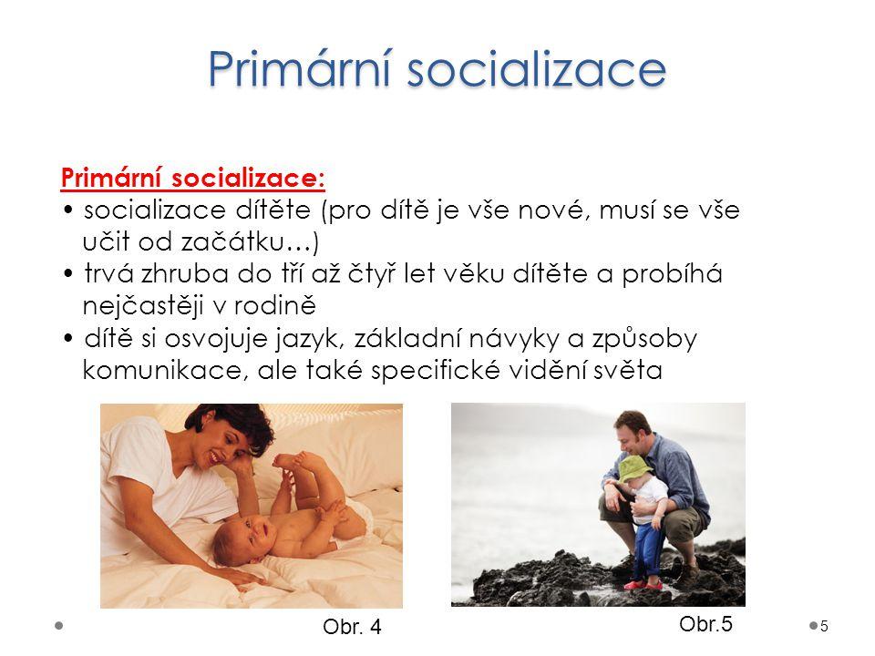 Primární socializace