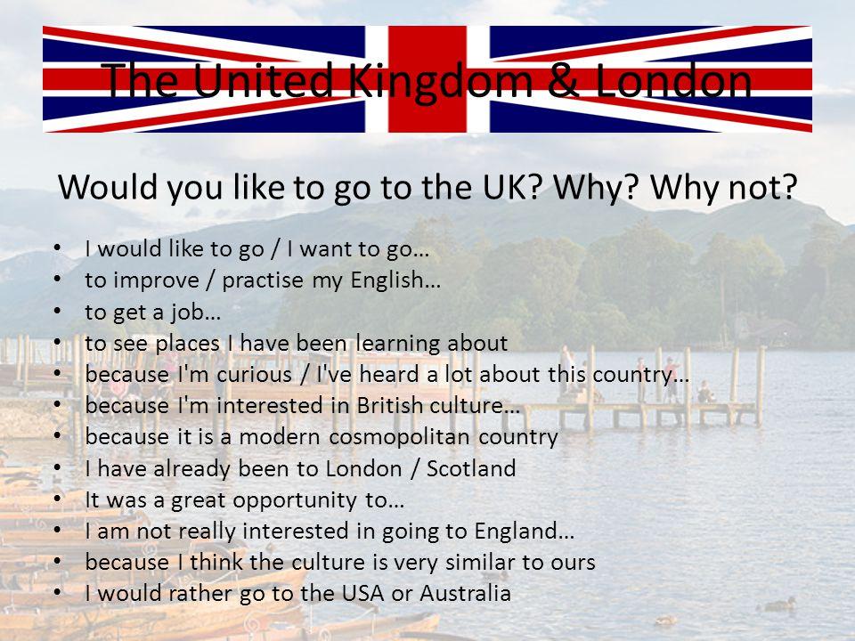 The United Kingdom & London
