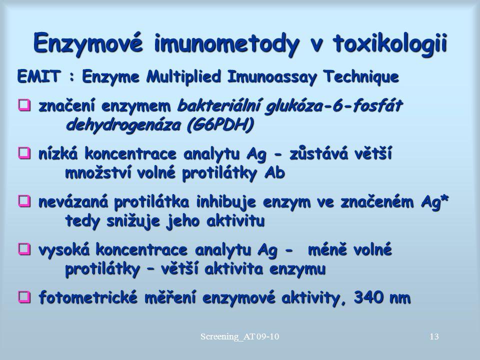 Enzymové imunometody v toxikologii