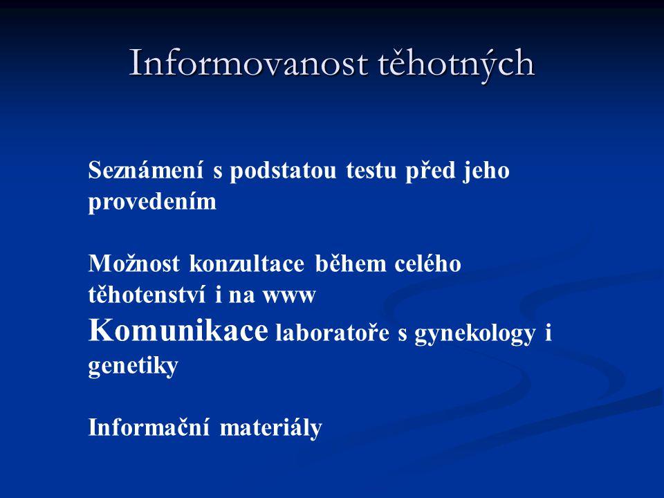 Informovanost těhotných