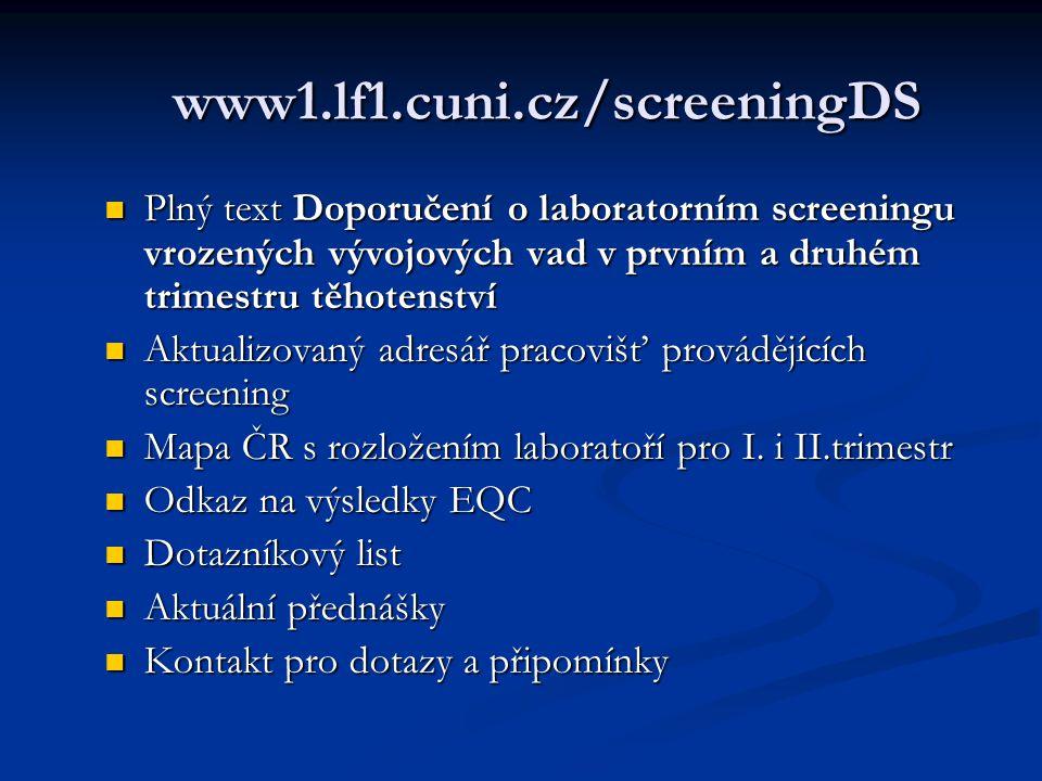 www1.lf1.cuni.cz/screeningDS