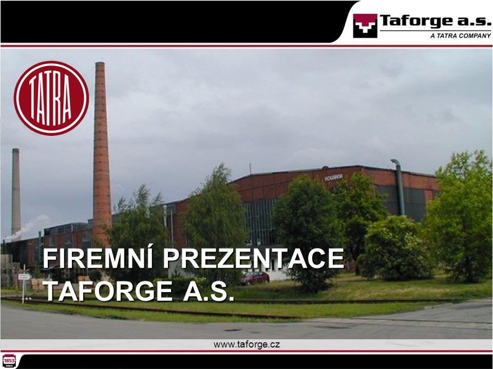 Firemní prezentace Taforge a.s.