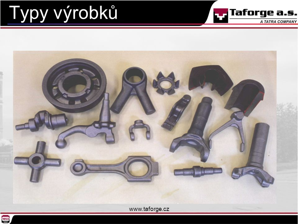 Typy výrobků www.taforge.cz