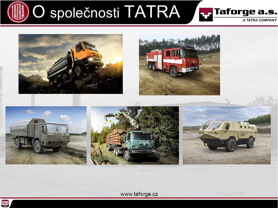 O společnosti TATRA www.taforge.cz