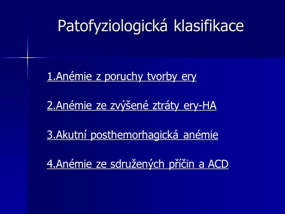 Patofyziologická klasifikace