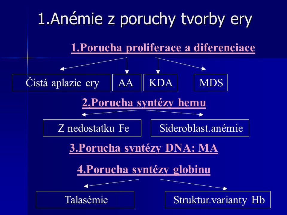 1.Anémie z poruchy tvorby ery