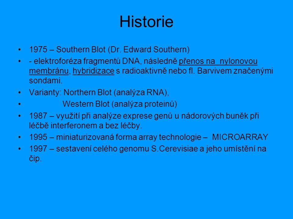 Historie 1975 – Southern Blot (Dr. Edward Southern)