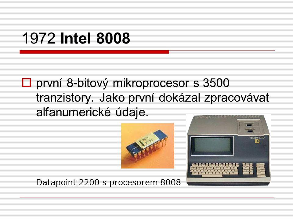 1972 Intel 8008