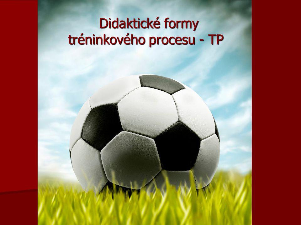 Didaktické formy tréninkového procesu - TP