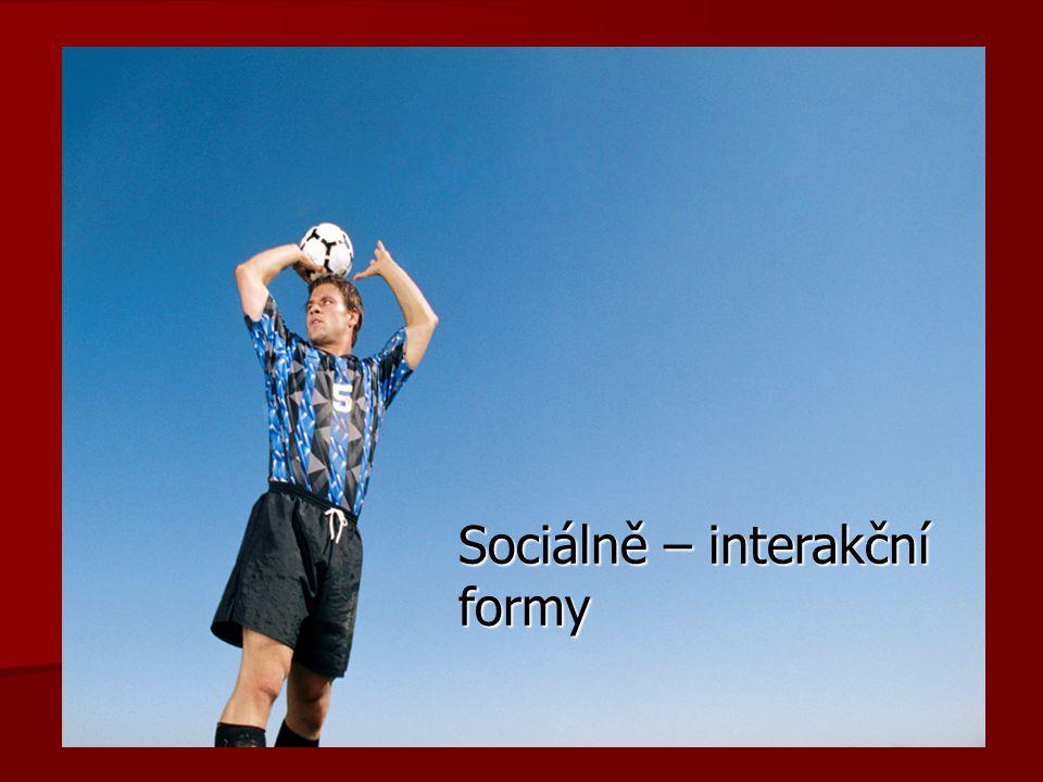 Sociálně – interakční formy