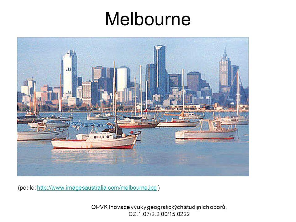 Melbourne (podle: http://www.imagesaustralia.com/melbourne.jpg )