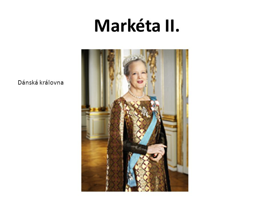 Markéta II. Dánská královna