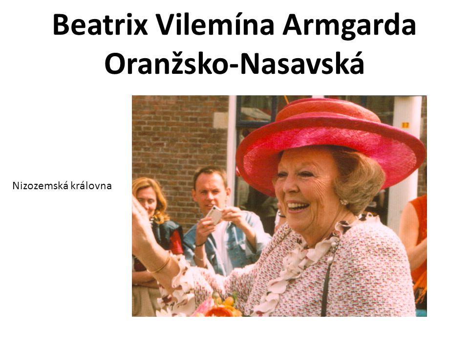 Beatrix Vilemína Armgarda Oranžsko-Nasavská