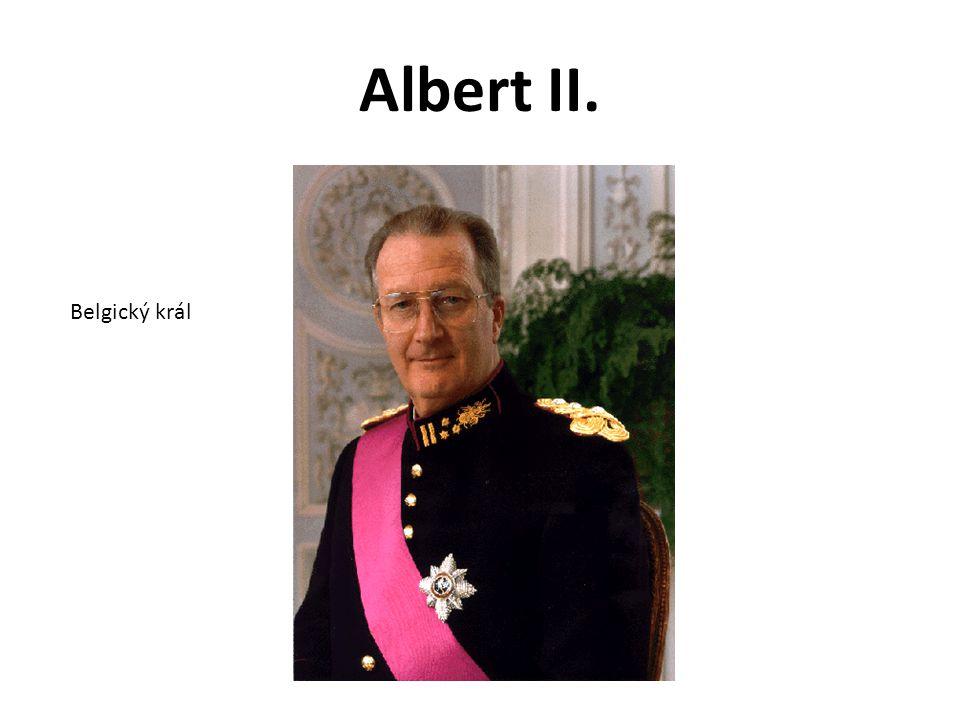 Albert II. Belgický král