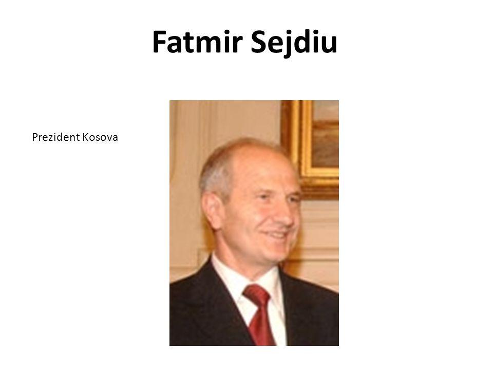 Fatmir Sejdiu Prezident Kosova