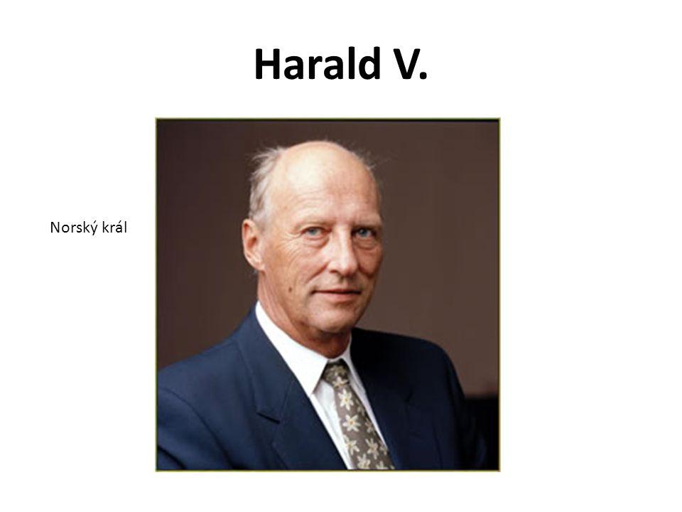Harald V. Norský král