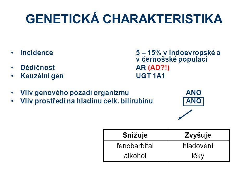 GENETICKÁ CHARAKTERISTIKA