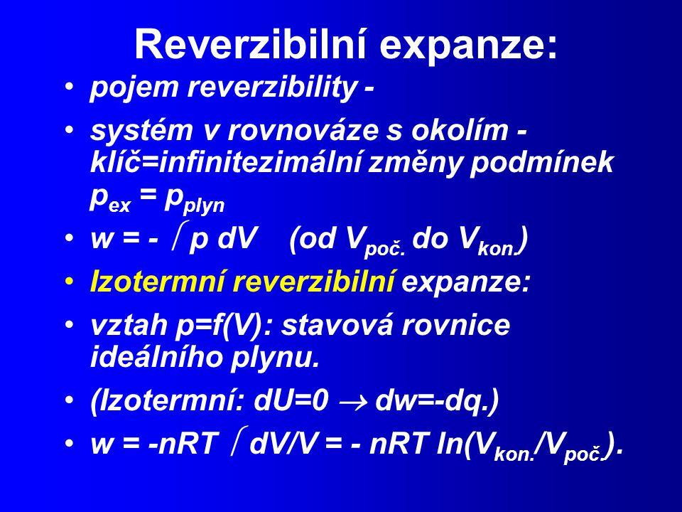 Reverzibilní expanze: