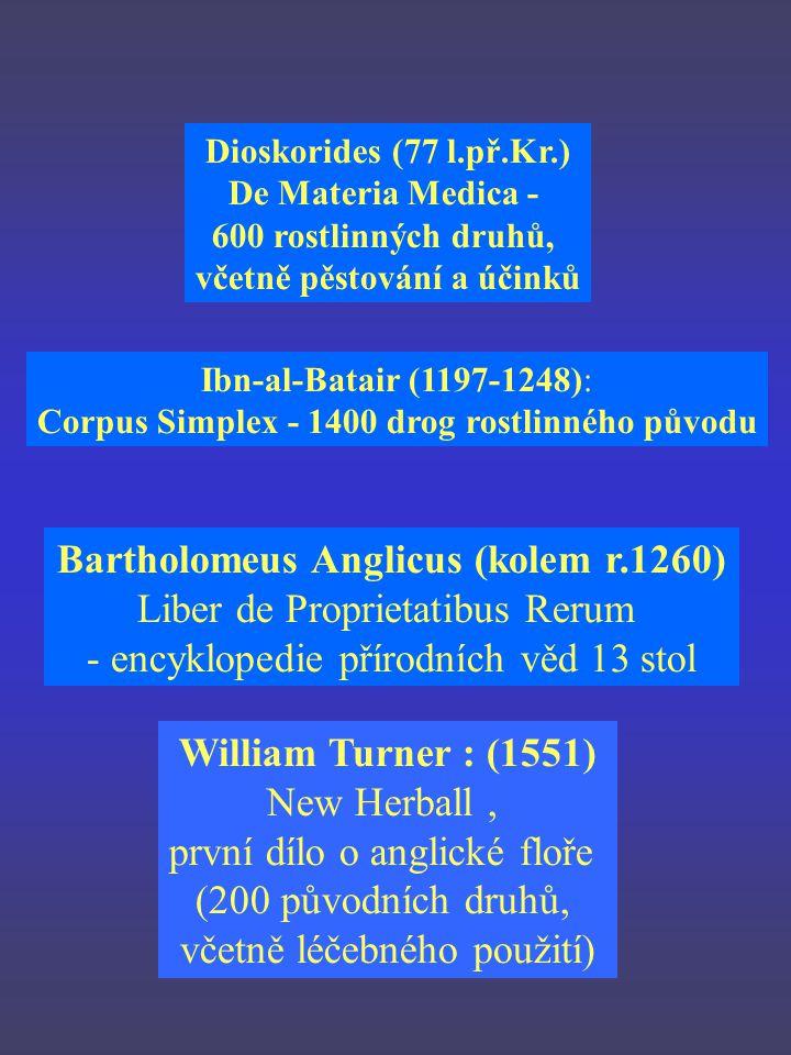 Bartholomeus Anglicus (kolem r.1260) Liber de Proprietatibus Rerum