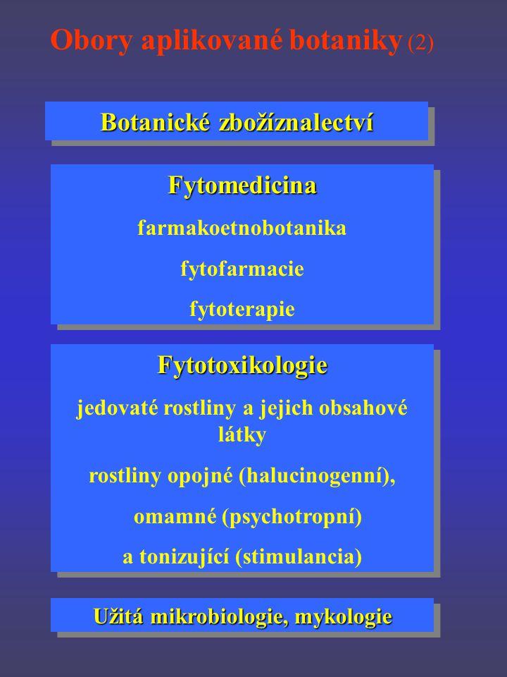Obory aplikované botaniky (2)