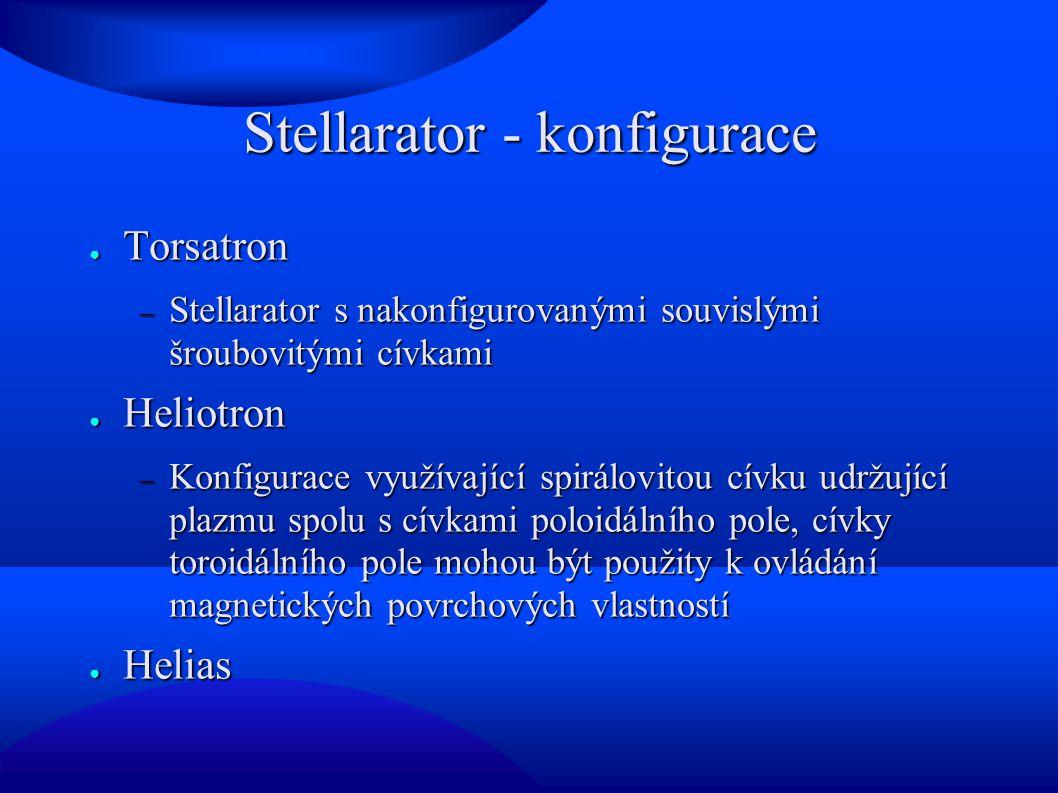 Stellarator - konfigurace