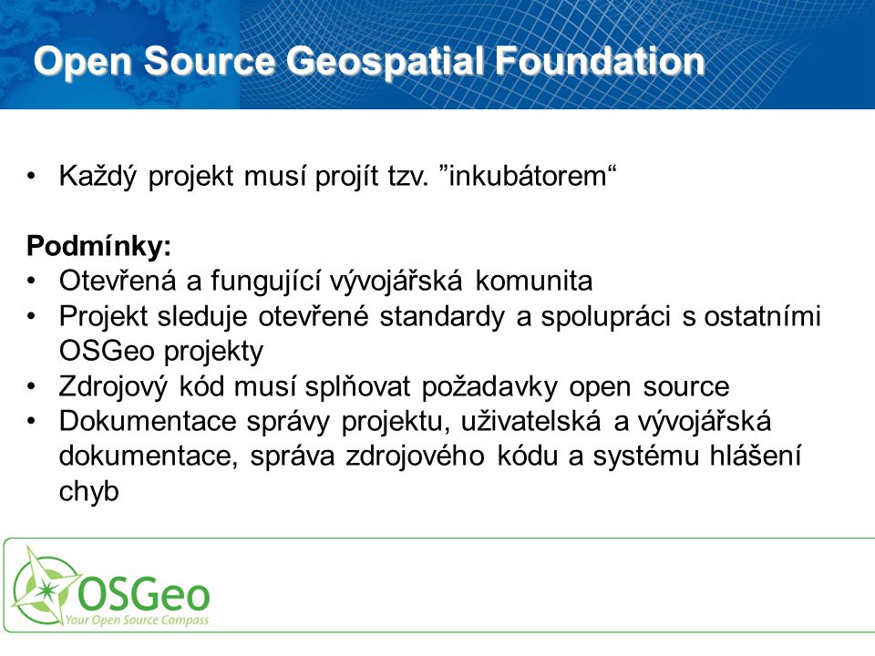 Open Source Geospatial Foundation