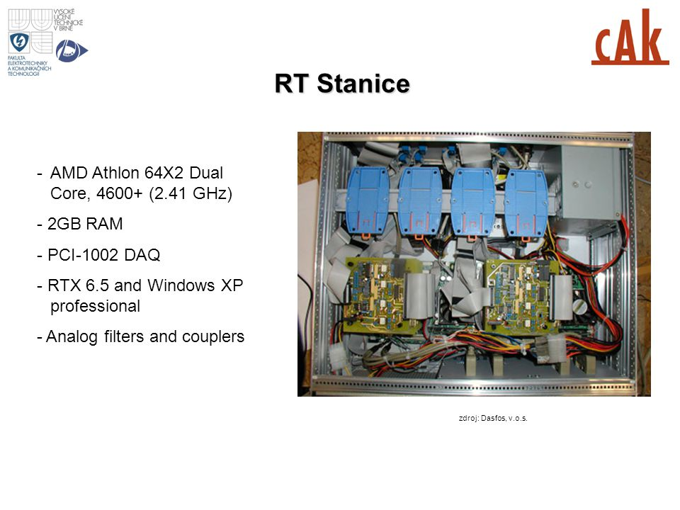RT Stanice - AMD Athlon 64X2 Dual Core, 4600+ (2.41 GHz) - 2GB RAM