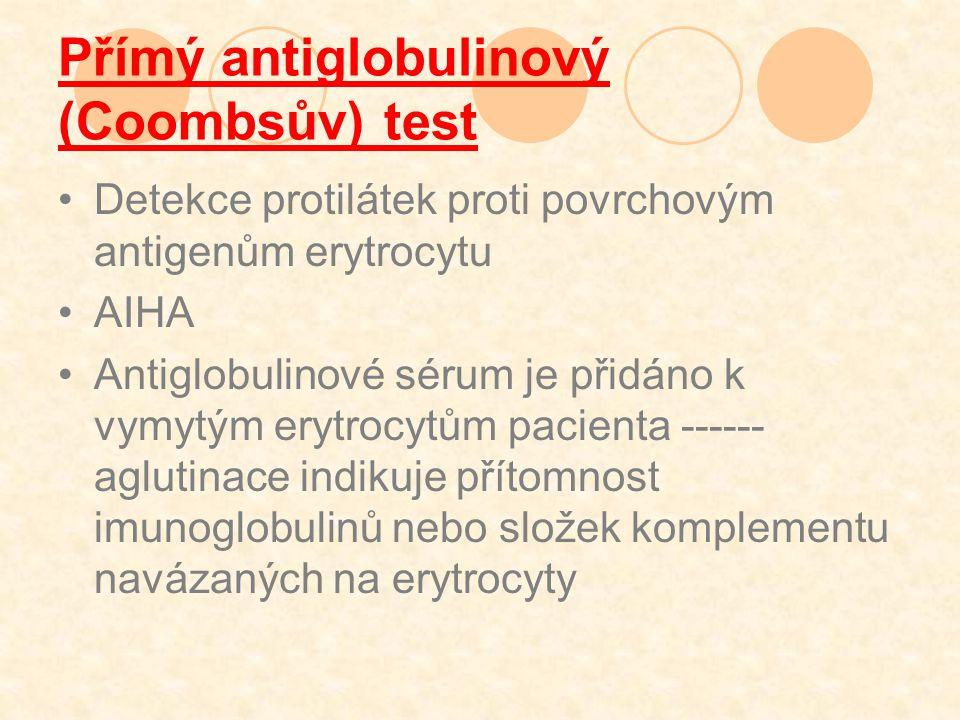 Přímý antiglobulinový (Coombsův) test