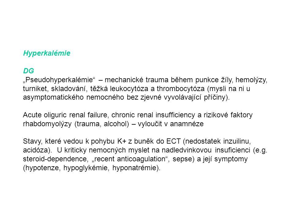 Hyperkalémie DG.