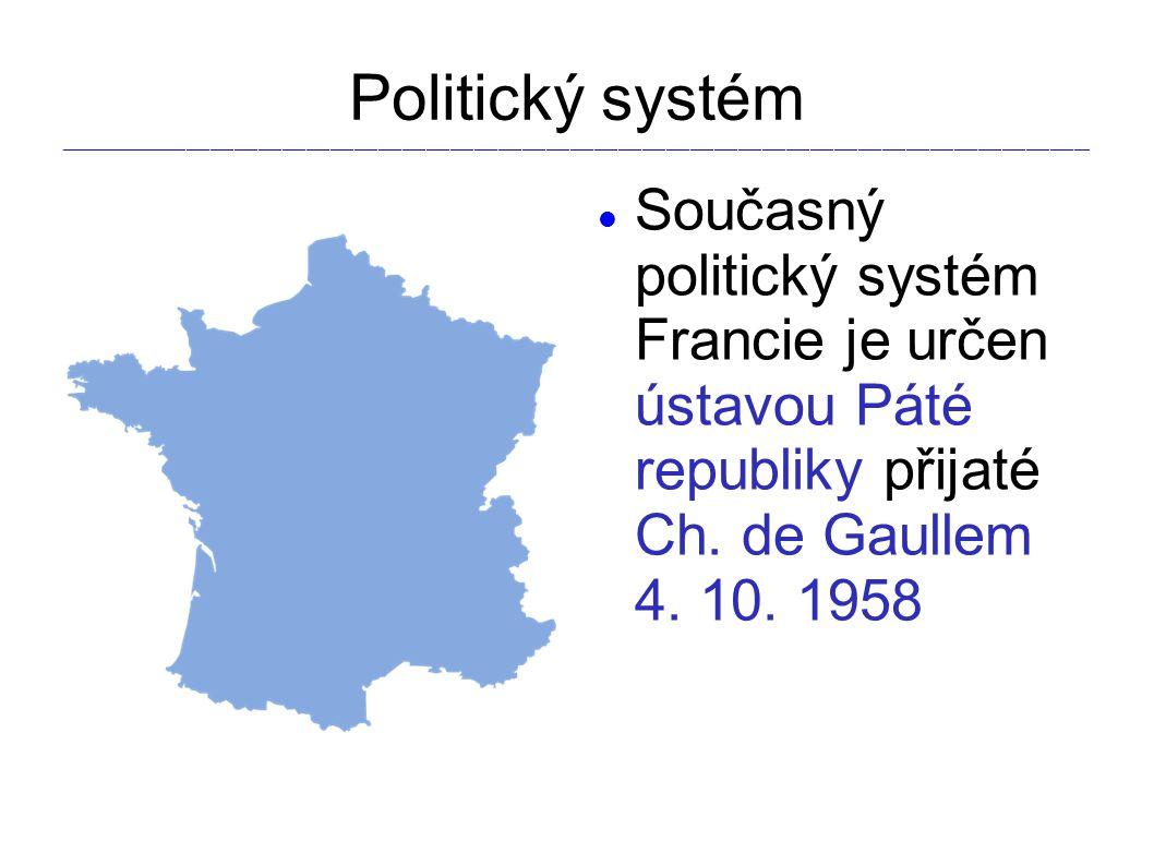 Politický systém _________________________________________________________________________________________________________________________________