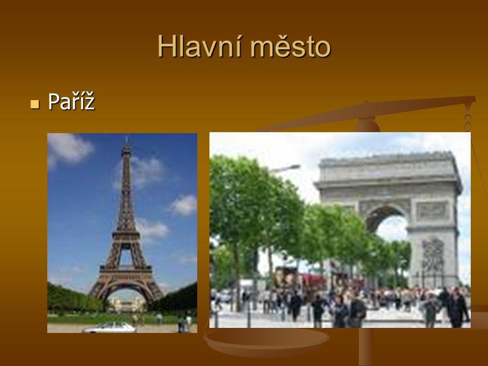Hlavní město Paříž
